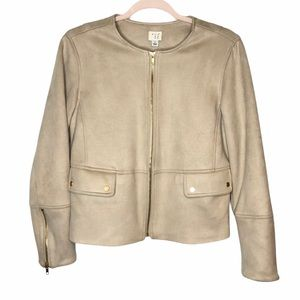 A new day fitted suede like jacket